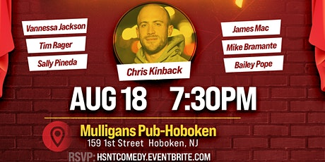 August Stand Up Comedy Night at Mulligans in Hoboken tickets