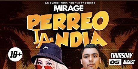 PerreolandiaLA @ LA Mirage Night club 18+ \ RSVP Free Before 10:30 tickets