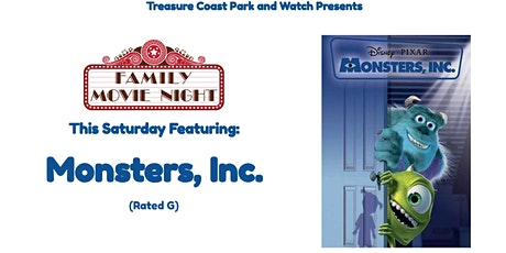 Saturday Drive In Movie Nights | Monsters, Inc. tickets