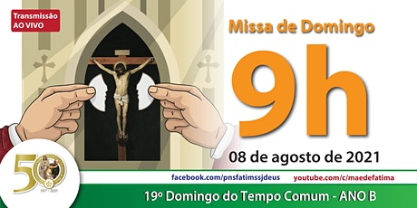 08/08 Missa 9h ingressos
