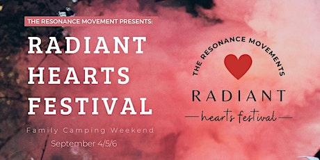 Radiant Hearts Festival tickets