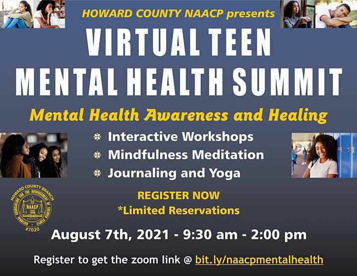 FREE ONLINE Teen Mental Health Summit- Pathways to Healing and Wellness image