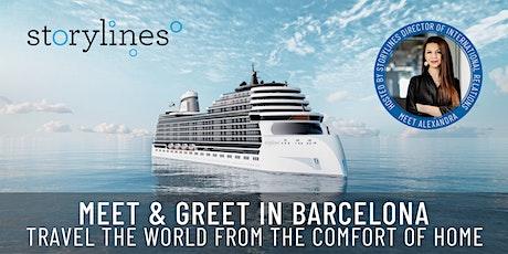 Storylines Meet & Greet in Barcelona tickets