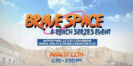 Brave Space - A discussion between anime & mental health! tickets