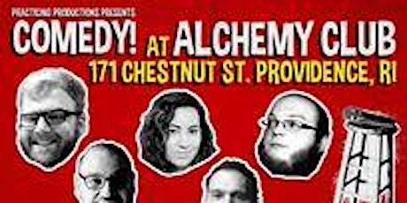 Comedy Showcase at Alchemy tickets