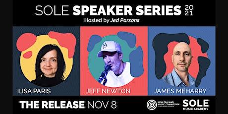 THE RELEASE - SOLE Speaker Series tickets