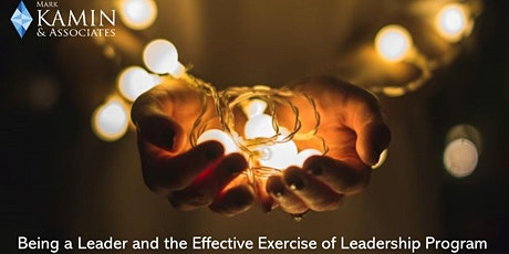 """2021 """"Being a Leader and the Effective Exercise of Leadership"""" August 12 tickets"""
