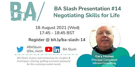 BA/#14: Negotiating Skills  for Life tickets