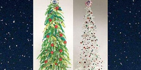 FUSED GLASS HOLIDAY TREES & WREATHS- Saturday, December 4,12:30pm- 3:00pm tickets