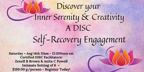 Discover your Inner Serenity & Creativity tickets
