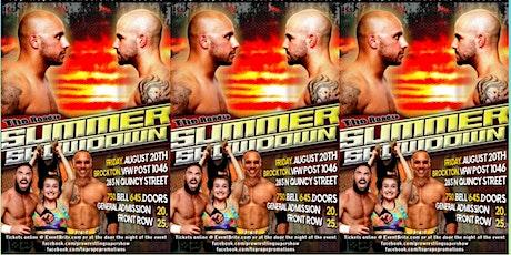 """TRP Wrestling """"Road to Summer Showdown"""" 2021 tickets"""