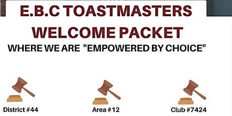 EBC Toastmasters Meeting tickets