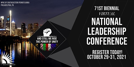 2021 Virtual NPHC National Leadership Conference tickets