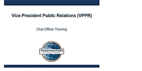 VPPR Officer Training tickets