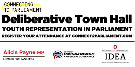 Connecting2Parliament: Town halls on the representation of young people tickets