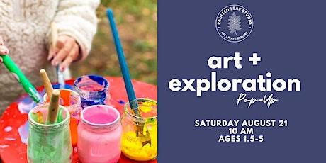 Saturday Art & Exploration Pop-Up tickets