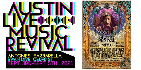 Austin Live Music Revival! 3 Day Music Festival tickets