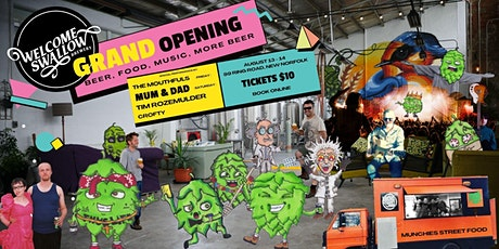 Welcome Swallow Brewery - Opening Celebrations tickets
