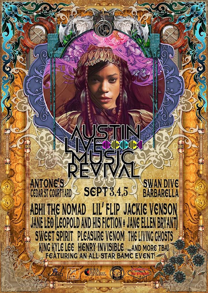 Austin Live Music Revival! 3 Day Music Festival image