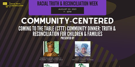 Coming to the Table (CTTT) Community Dinner: Truth & Reconciliation tickets