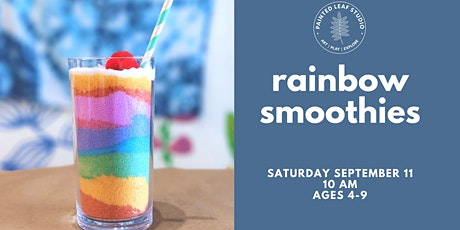 Saturday Workshop: Rainbow Smoothies tickets