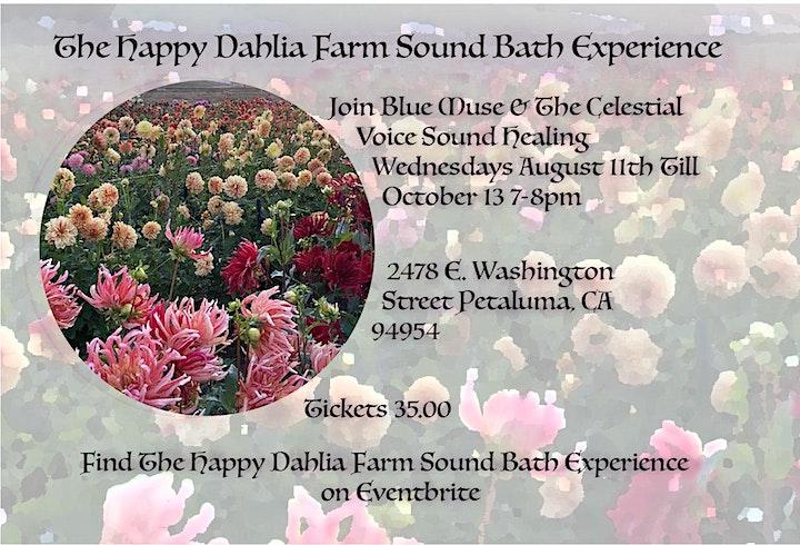 The Happy Dahlia Farm Sound Bath Experience image
