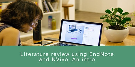 Literature Review Using EndNote and Nvivo tickets