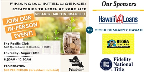 Financial Intelligence: Strategies to Level up Your Life! tickets