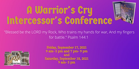 A Warrior's Cry Intercessors' Conference tickets
