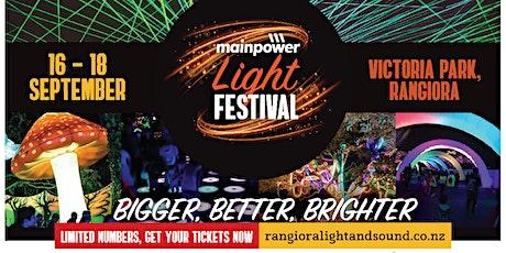 MainPower Light Festival tickets
