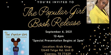 Book Release: The Popular Girl: First Communion tickets