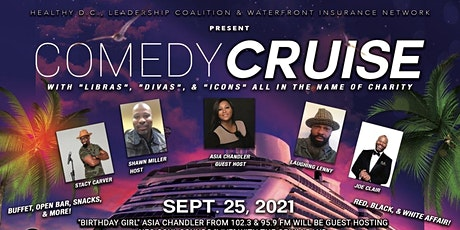 Comedy Cruise for Charity tickets