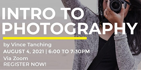 Intro to Photography tickets