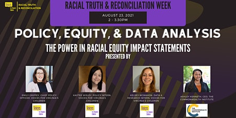 The Power in Racial Equity Impact Statements (Virtual) tickets