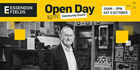 EF100 OPEN DAY - Essendon Airport Historical Walking Tour tickets