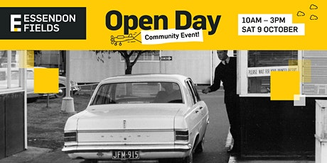 EF100 OPEN DAY - Event Parking tickets