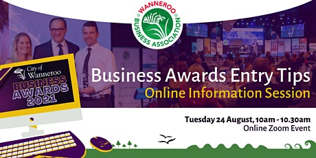 Business Awards Entry Tips tickets