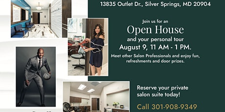 Salon Plaza Open House, Silver Spring tickets
