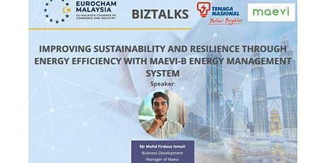 EUROCHAM  - Improving Sustainability & Resilience Through Energy Efficiency tickets