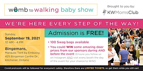 Womb to Walking Baby Show -Resource for all things Pregnancy, Baby & Todder tickets