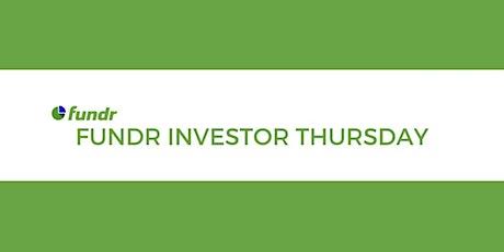 Fundr Investor Thursday tickets