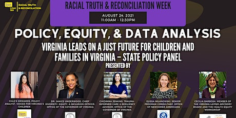 Virginia Leads on a Just Future for Children and Families in Virginia Tickets