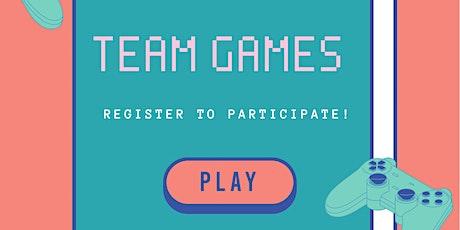 Team Games! tickets