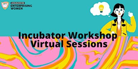 Accelerator for Enterprising Women   Kickstarter Drop-in Sessions   Virtual tickets
