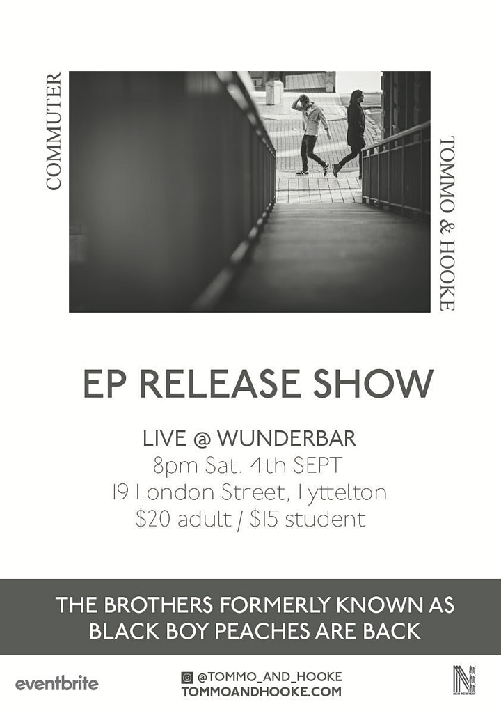 Tommo & Hooke - EP Release / CHRISTCHURCH image