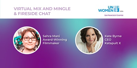 Virtual Mix and Mingle & A Fireside Chat with Sahra Mani tickets