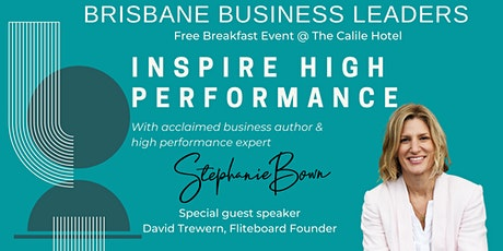 INSPIRE HIGH PERFORMANCE tickets