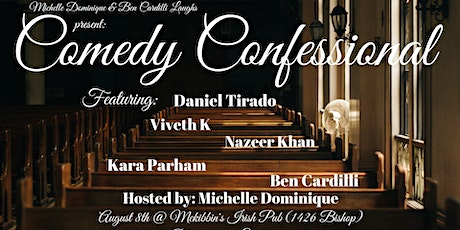 Comedy Confessional (standup comedy) tickets