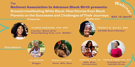 Breast/chestfeeding While Black: Real Stories from Black Parents tickets