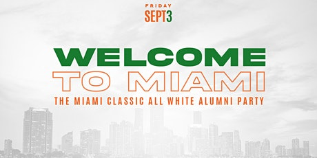 MIAMI CLASSIC FRIDAY NIGHT ALL WHITE PARTY -  @The Oasis @ Magic City Innov tickets